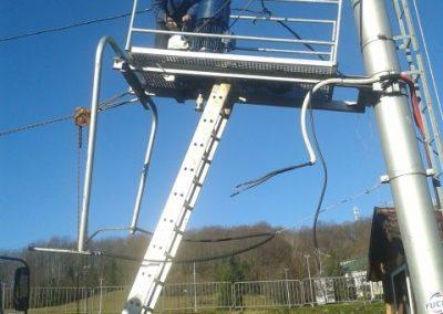 Ski lift Mukinje