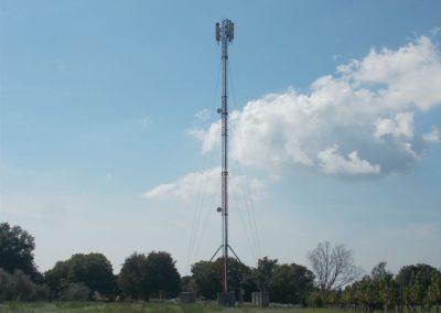 Antenna poles